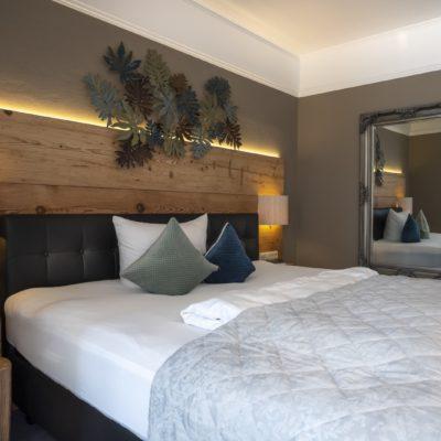 Doppelzimmer Gartenhotel Salzach