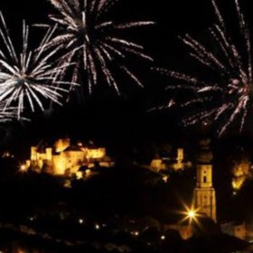 Silvester in Burghausen