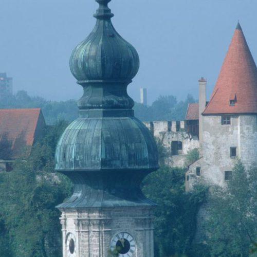 Altstadt und Burg Burghausen