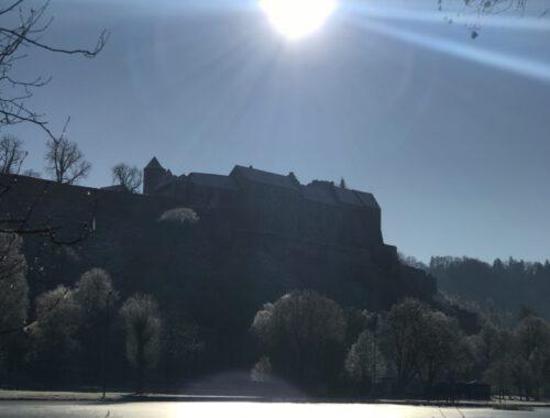 Burg, Reif und Eis
