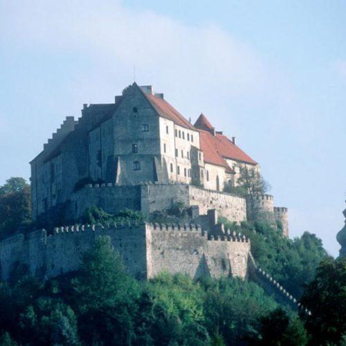Burghauser Burg front