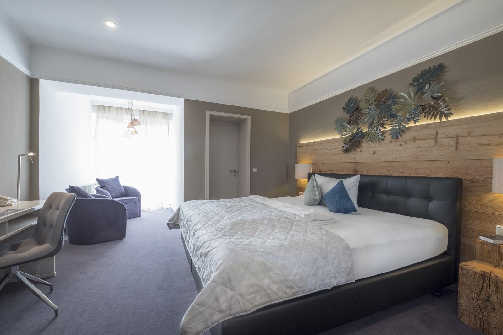 Doppelzimmer zur Einzelnutzung Gartenhotel Salzach