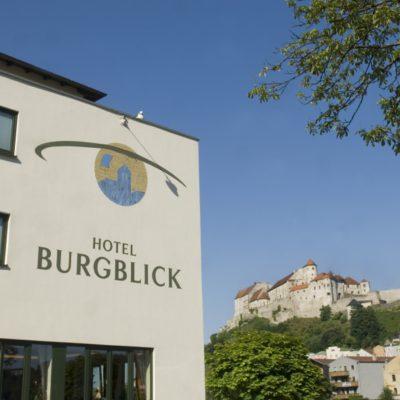 Hotel Burgblick aussenansicht
