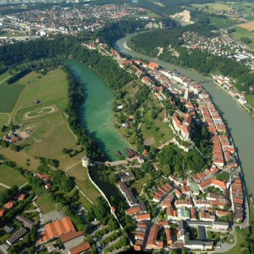 Luftaufnahme Burghausen 2