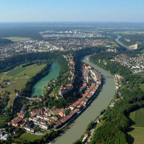 Luftaufnahme Burghausen 3