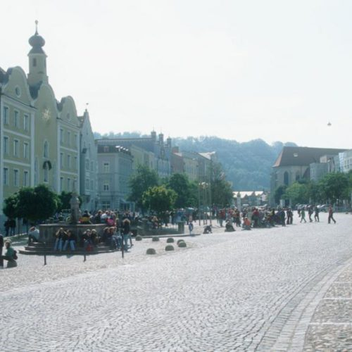 Stadtplatz Burghausen 2