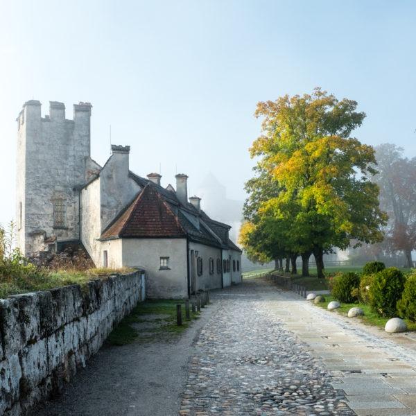 Burg zu Burghausen, weltlängste Burg, Obb., D,EU